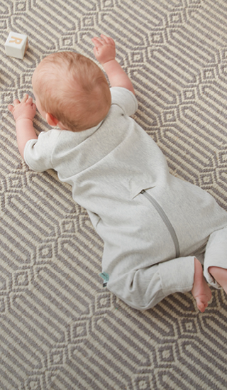 The Sleep Onesie is a perfect sleeping bag alternative for your infant who doesn't like the restriction of a sleeping bag. Designed to be worn on its own for sleep (without blankets), or with a layer underneath for comfort.