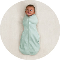 Cocoon Swaddle Bags are best for newborn sleepers who prefer to be swaddled