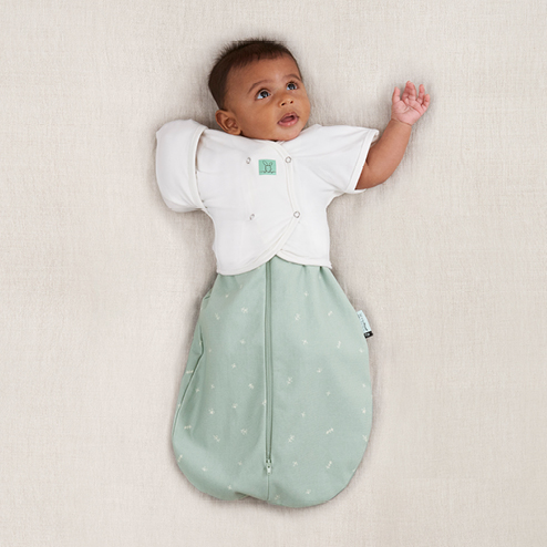 Butterfly Cardi - Transition baby from arms-in swaddling to arms-out sleeping