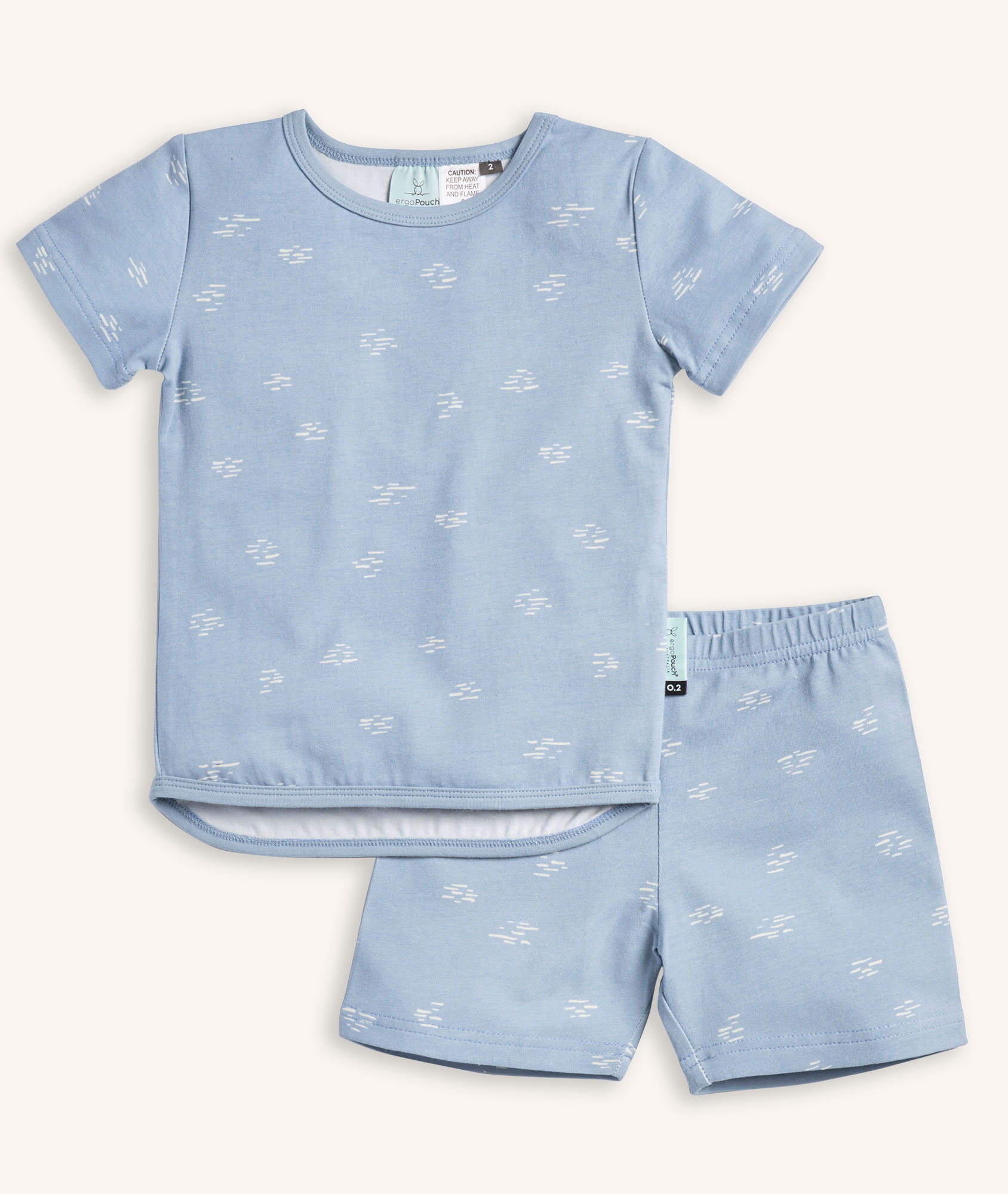 Short Sleeve Pyjamas 0.2 TOG