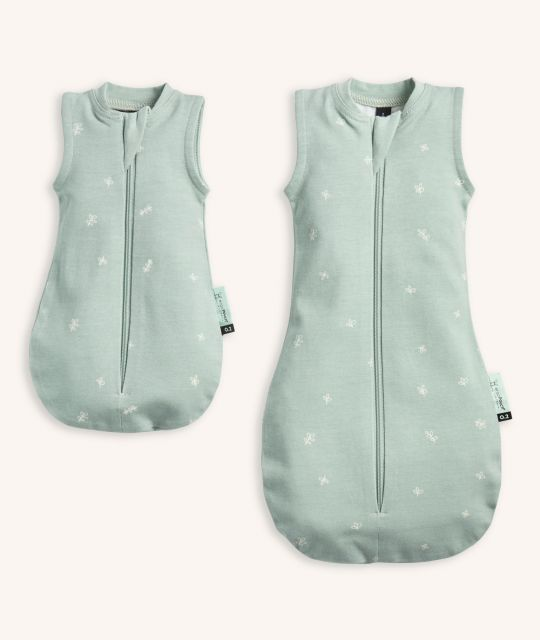 ergoPouch Doll Sleeping Bag Sage LARGE Size