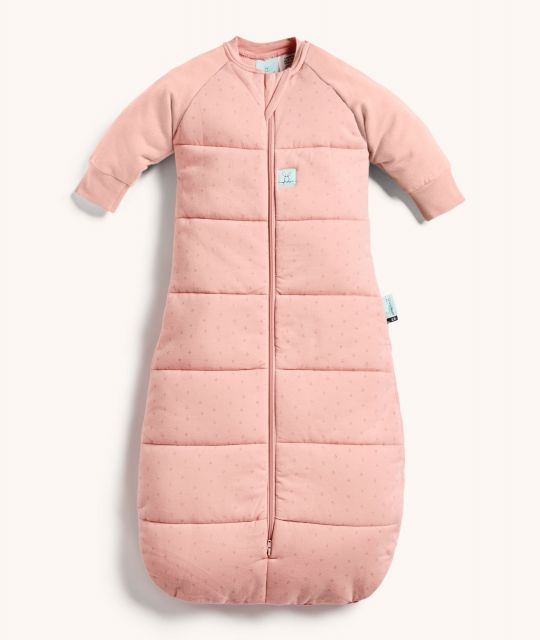 ergoPouch Jersey Sleeping Bag 3.5 TOG Berries with warm sleeves