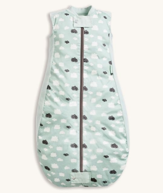 ergoPouch Sheeting Sleeping Bag 0.3 TOG Mint Clouds
