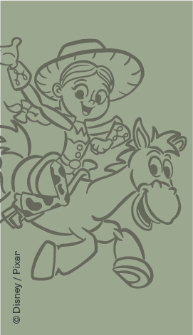 Disney x ergoPouch SS21 Collection - Jessie, Toy Story