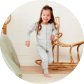 The Sleep Onesie is a perfect sleeping bag alternative for little ones who don't like the restriction of a sleeping bag, or those transitioning to a big bed. Designed to be worn on its own for sleep, or with a layer underneath for warmth and comfort.
